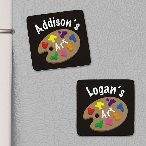 Personalized Who's Artwork Magnet U655946