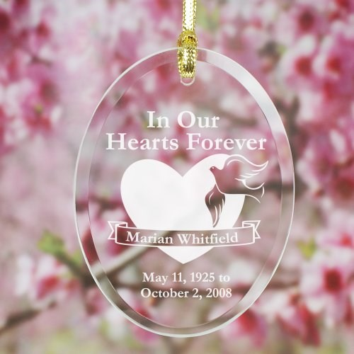 Engraved Memorial Suncatcher 820704SC