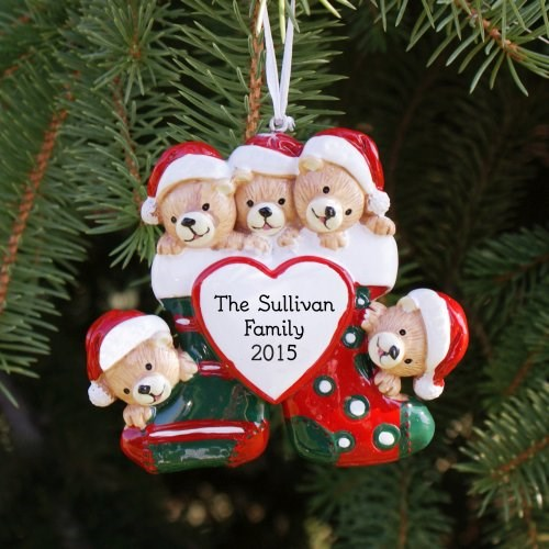 Personalized Family Christmas Tree Ornaments