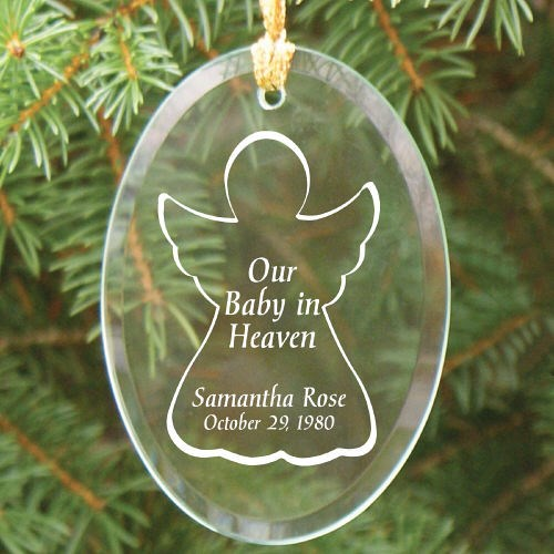 Baby in Heaven Ornament