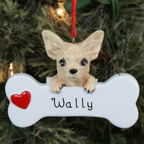 Engraved Chihuahua Ornament 870613