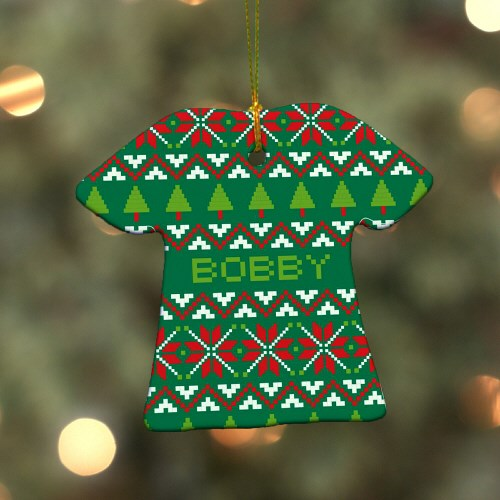 Christmas Sweater Ornament U784463