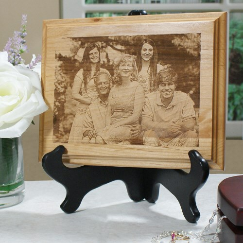 Personalized Photo Wood Plaque Keepsake