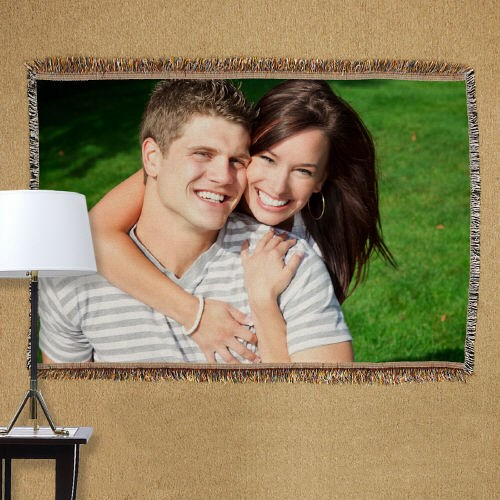 Personalized Love Photo Tapestry Throw Blanket 83038765