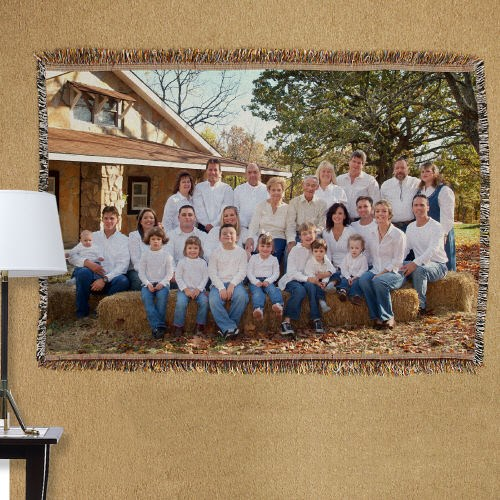 Personalized Family Reunion Tapestry Throw Blanket 83043265