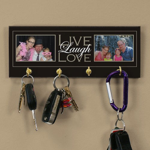 Live, Laugh, Love Photo Key Rack U704954