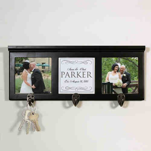 Personalized Wedding Photo Coat Rack U714666