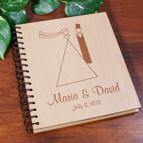Personalized Wedding Album for Bride & Groom
