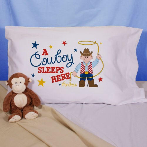 Personalized Cowboy Pillowcase 83036830