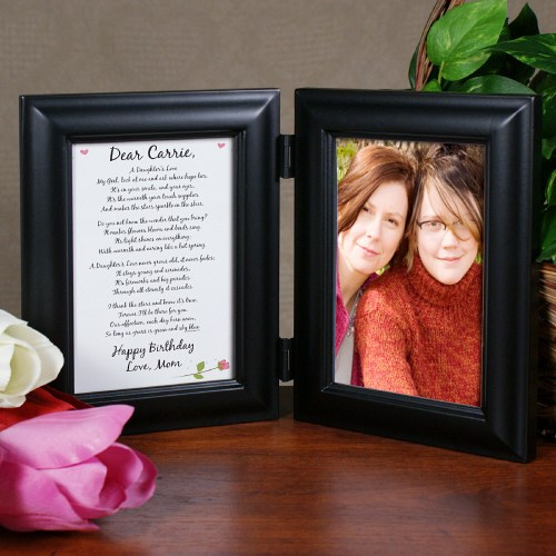 To My Daughter Personalized Picture Frame | Gifts For Mom