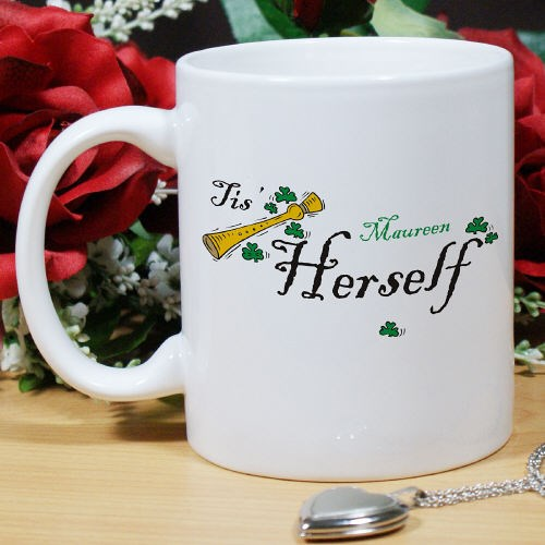 Personalized Irish Coffee Mug for Her