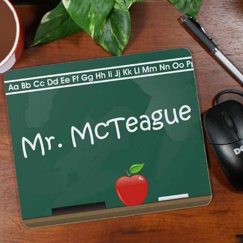 Personalized Teacher Mouse Pad Gifts