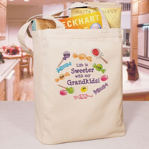 Life Is Sweeter Personalized Canvas Tote Bag 838952
