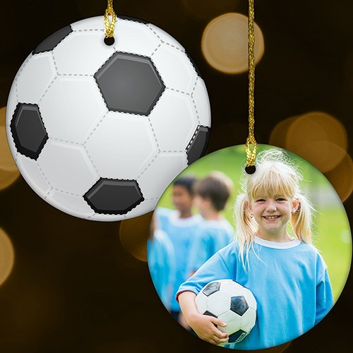 Sports Photo Ornament-Soccer U1071610S