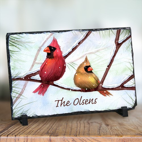 Personalized Cardinals Stone Keepsake U375867