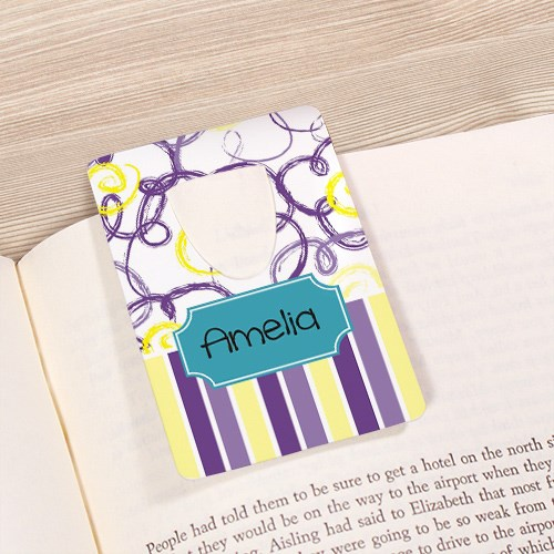 Personalized Bookmark for Her U67515
