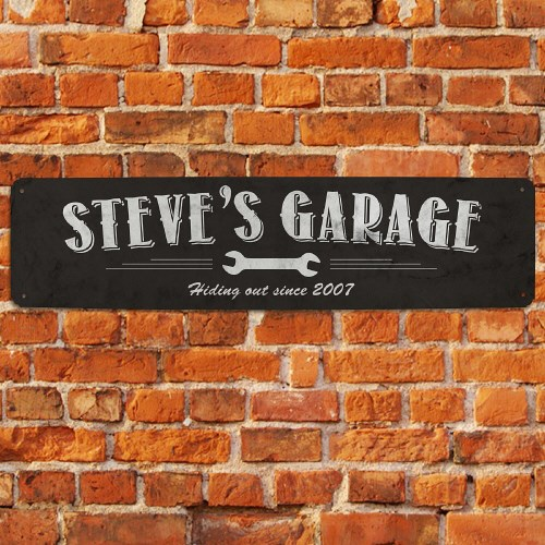 Personalized My Garage Street Sign 63176388