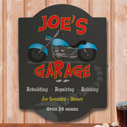 My Garage Personalized Wall Sign  658995