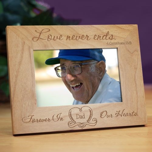 Engraved Memorial Picture Frame for Mom, Dad, Grandma, Grandpa