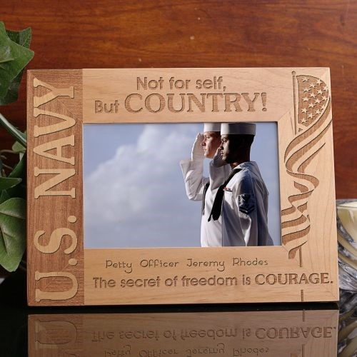 Personalized U.S. Navy Picture Frame