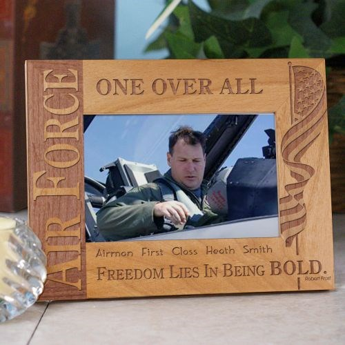 Personalized Air Force Picture Frame