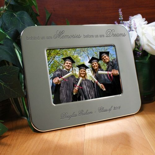 Engraved Graduation Silver Picture Frame M34822X