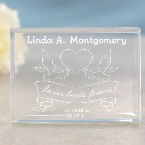 Engraved In Our Hearts Forever Memorial Keepsake 771153