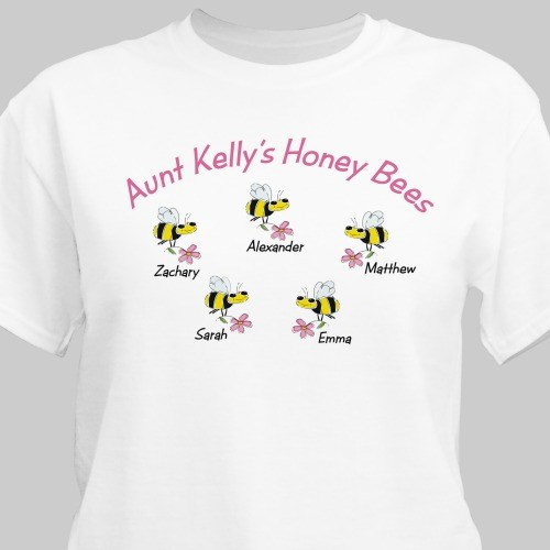 Honey Bees Personalized T-Shirt