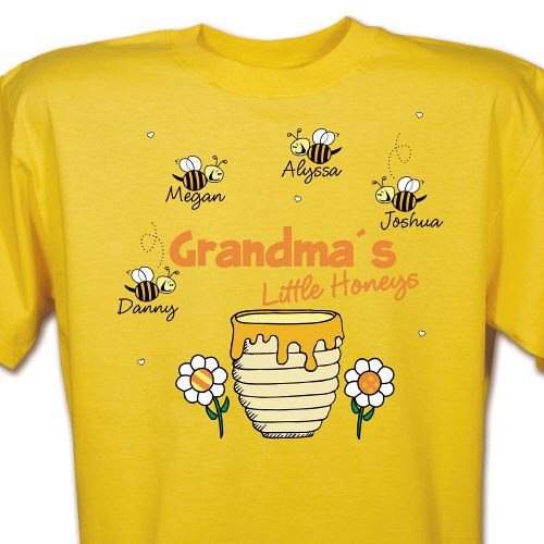 Custom Printed Grandma Tee Shirt