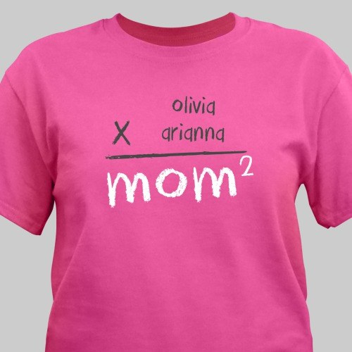 Personalized Mom T-Shirt 37283X