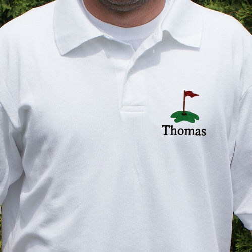 Personalized Embroidered Golf Polo Shirt