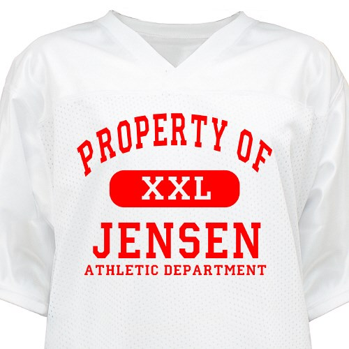 Property Of Athletic Dept. Jersey FJ33852X