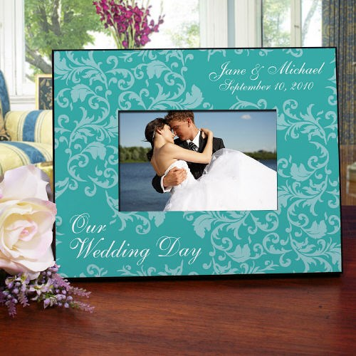 Custom Printed Wedding Day Picture Frame