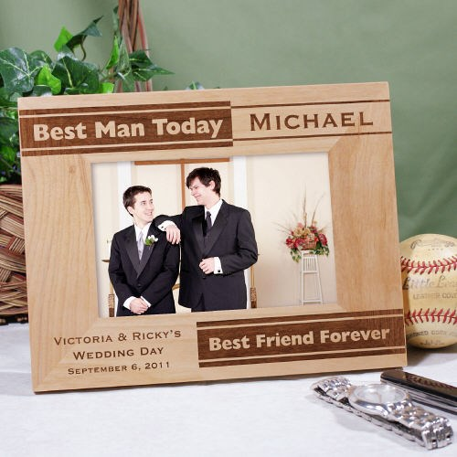 Personalized Best Man Picture Frame
