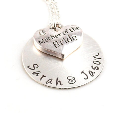 Personalized Mother of the Bride Necklace DB15680