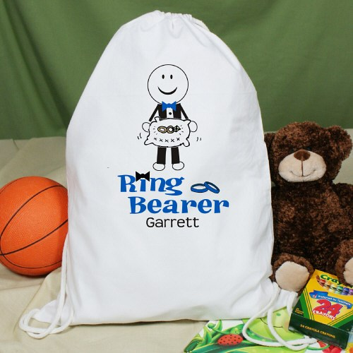 Personalized Ring Bearer Sports Bag SP833542
