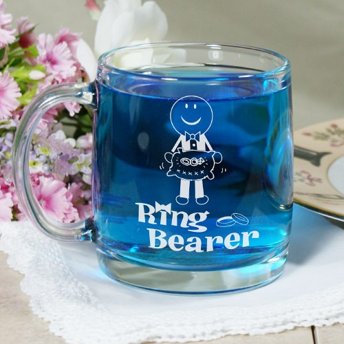 Personalized Ring Bearer Keepsake Mug