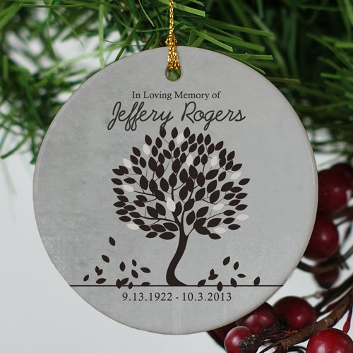 In Loving Memory Ornament-Personalized Christmas Ornament