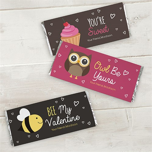 Be Mine Candy Wrapper Set 11005815x