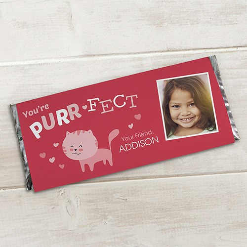 Personalized Purr-Fect Candy Bar Wrapper 11006015x