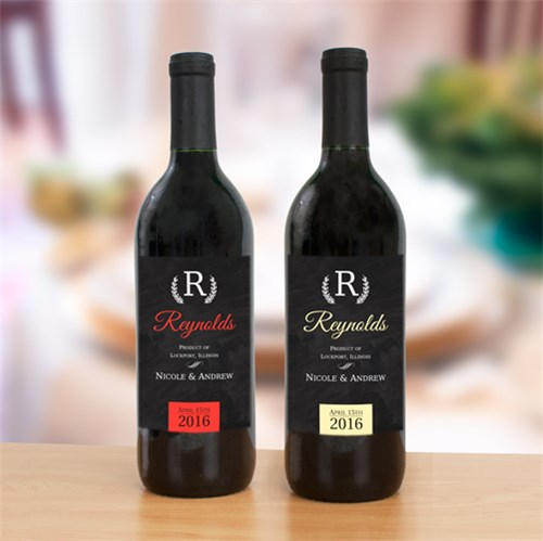 Personalized Wedding Wine Labels | Personalized Wedding Favors