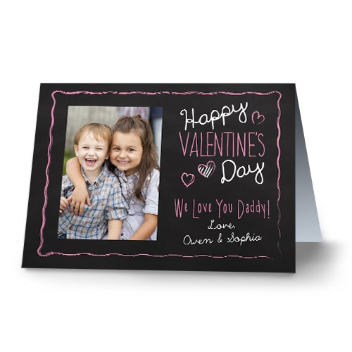 Chalkboard Photo Card 1726510x