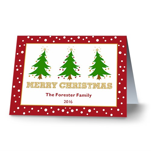 Oh Christmas Tree Personalized Holiday Cards 1974710