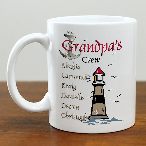 Personalized Dad Coffee Mug