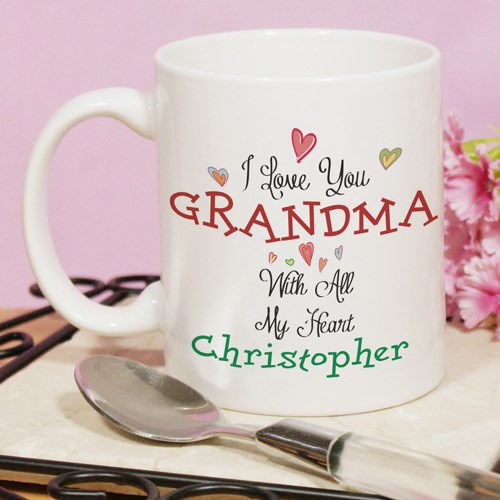 Personalized With All Our Hearts Mug 210152