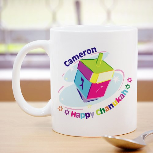 Chanukah Dreidel Coffee Mug