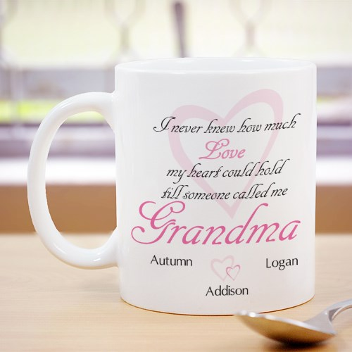How Much Love Personalized Mug