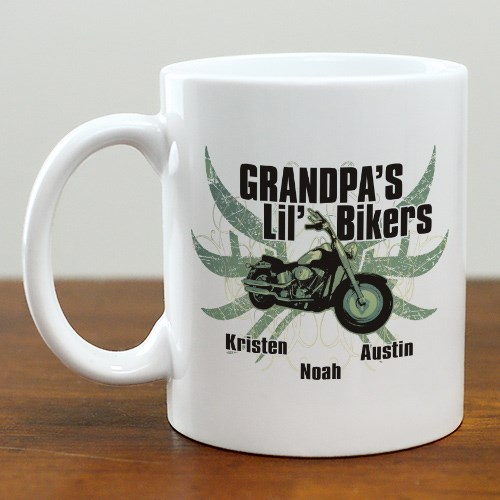 Personalized Motorcycle Coffee Mug