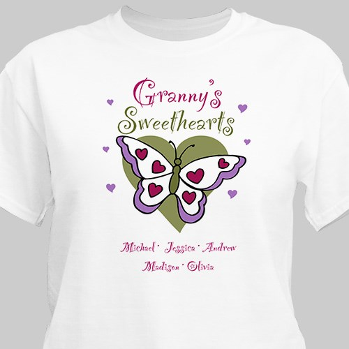 Butterfly Sweethearts Valentine T-shirt