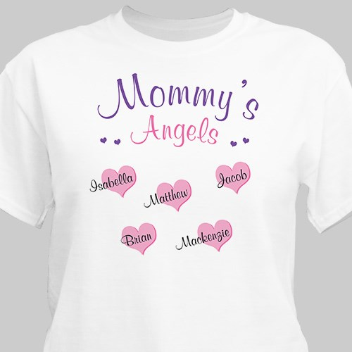 Angels of My Heart Personalized T-Shirt